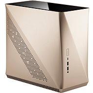 Fractal Design Era ITX Gold Tempered Glass - Számítógépház