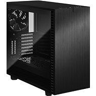 Fractal Design Define 7 Black - Dark TG - Számítógépház