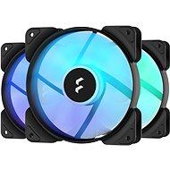 Fractal Design Aspect 12 RGB PWM Black Frame (3pack) - Számítógép ventilátor