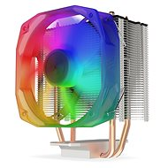 Processzor hűtő SilentiumPC Spartan 4 EVO ARGB - Chladič na procesor