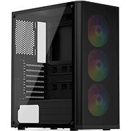 SilentiumPC Ventum VT2 EVO TG ARGB Black - Számítógépház