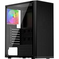 SilentiumPC Ventum VT2 TG ARGB Black - Számítógépház