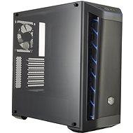 Cooler Master MasterBox MB511 Mesh Blue Trim - Számítógépház