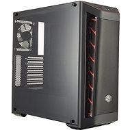 Cooler Master MasterBox MB511 Mesh Red Trim - Számítógépház
