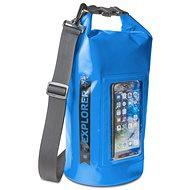 """CELLY Explorer 5L telefontartó zsebbel 6,2"""" telefonhoz kék - Zsák"""