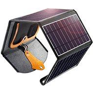 ChoeTech összecsukható napelemes töltő 22W fekete - Napelem