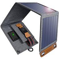 ChoeTech összecsukható napelemes töltő 14W fekete - Napelem