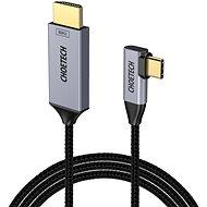 ChoeTech USB-C to HDMI 90° Thunderbolt 3 Compatible 4K@60Hz Cable 1.8m - Videokábel