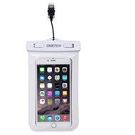 ChoeTech Waterproof Bag for Smartphones White - Mobiltelefon tok