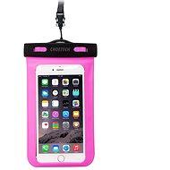 ChoeTech Waterproof Bag for Smartphones Pink - Mobiltelefon tok