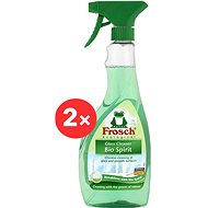 FROSCH Spiritus üveghez 2 × 500 ml - Öko tisztítószer