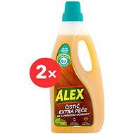 ALEX tisztítószer és extra gondoskodás a fáról 2 × 750 ml - Tisztítószer