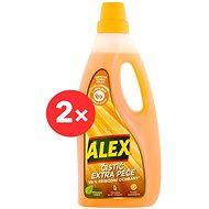 ALEX tisztítószer és extra gond a laminátumhoz 2 × 750 ml - Tisztítószer