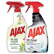 AJAX Spray Duopack (WC + Pure) 500 ml + 500 ml - WC-tisztító