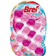 BREF Brilliant Gel Spring Rain 3 × 42 g - WC frissítő