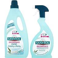 SANYTOL Duopack Fertőtlenítő tisztítószer Padló+ Univerzális Tiszító spray - Tisztítókészlet