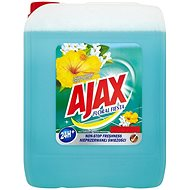 AJAX Floral Fiesta Lagoon Flower kék 5 l - Tisztítószer