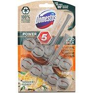 DOMESTOS Power 5 Tangerine 2× 55 g - WC blokk