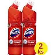 DOMESTOS Extended Power Red 2 × 750 ml - WC-tisztító