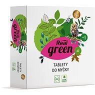 REAL GREEN tabletta mosogatógéphez 40 db - Öko mosogatógép tabletták