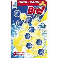 BREF Power Aktiv Lemon 4× 50 g - WC frissítő