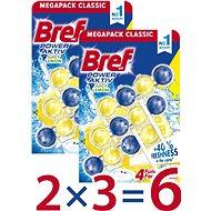 BREF Power Aktiv Lemon 6 x 50 g - WC frissítő
