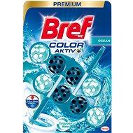 WC illatosító BREF Turquise Aktiv 2 × 50 g - WC frissítő