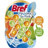 BREF Parfume Switch Peach-Red Apple 3× 50 g - WC blokk