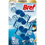 BREF WC blokk Color Aktiv Ice Breaker 4 × 50 g - WC blokk