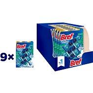 BREF Color Aktiv Eucalyptus merev WC-blokk 27 × 50 g - WC frissítő