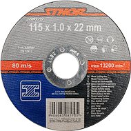 Vágótárcsa Sthor fémtárcsa 115 x 22 x 1,0 mm - Řezný kotouč