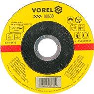 Vágótárcsa Vorel fémtárcsa 115 x 22 x 1,0 mm - Řezný kotouč