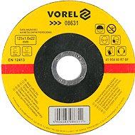 Vágótárcsa Vorel fémtárcsa 125 x 22 x 1,0 mm