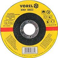 Vágótárcsa Vorel fémtárcsa 115 x 22 x 2,5 mm - Řezný kotouč