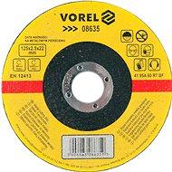 Vágótárcsa Vorel fémtárcsa 125 x 22 x 2,5 mm