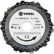 Vágótárcsa Vorel Lánctárcsa 125 mm - Řezný kotouč