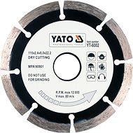 Gyémánt korong Yato gyémánt korong 115 x 22,2 x 2,1 mm - Diamantový kotouč