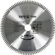 Yato Vágótárcsa alumíniumra 250 x 30 mm 100z - Vágótárcsa