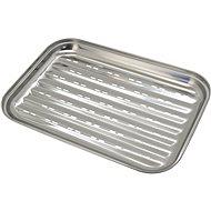 Cattara Grill rozsdamentes acél tálca 34 x 24 cm - Grill kiegészítők