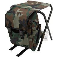 CATTARA OLBIA ARMY összecsukható szék hátizsákkal - Kemping fotel