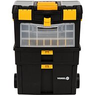 Vorel Mobile szerszámszekrény kivehető szervezővel - Rendszerező