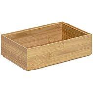 Tömörítő tároló szervező Bamboo Box L - 22,5 x 15 x 6,5 cm - Tárolódoboz