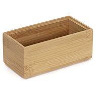 Tömörítő tároló szervező Bamboo Box S - 15 x 7,5 x 6,5 cm - Tárolódoboz