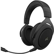 Corsair HS70 PRO Wireless Carbon - Gamer fejhallgató