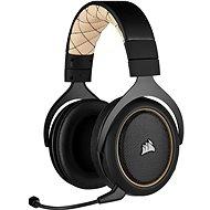 Corsair HS70 PRO Wireless Cream krém színű - Gamer fejhallgató