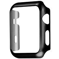COTEetCI Polikarbonát tok Apple Watch 44 mm okosórához fekete - Védőtok