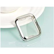 COTEetCI Apple Watch termoplaszt teljese felület tok 44 mm, ezüst - Védőtok
