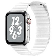 COTEetCI Loop Band Mágneses bőrszíj 38 / 40 / 41 mm-es Apple Watch-hoz, fehér - Szíj