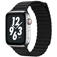 COTEetCI Apple Watch Loop Band mágneses bőr szíj 42 / 44 mm fekete