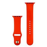 COTEetCI Apple watch szilikon sport szíj 42/44 mm piros - Szíj